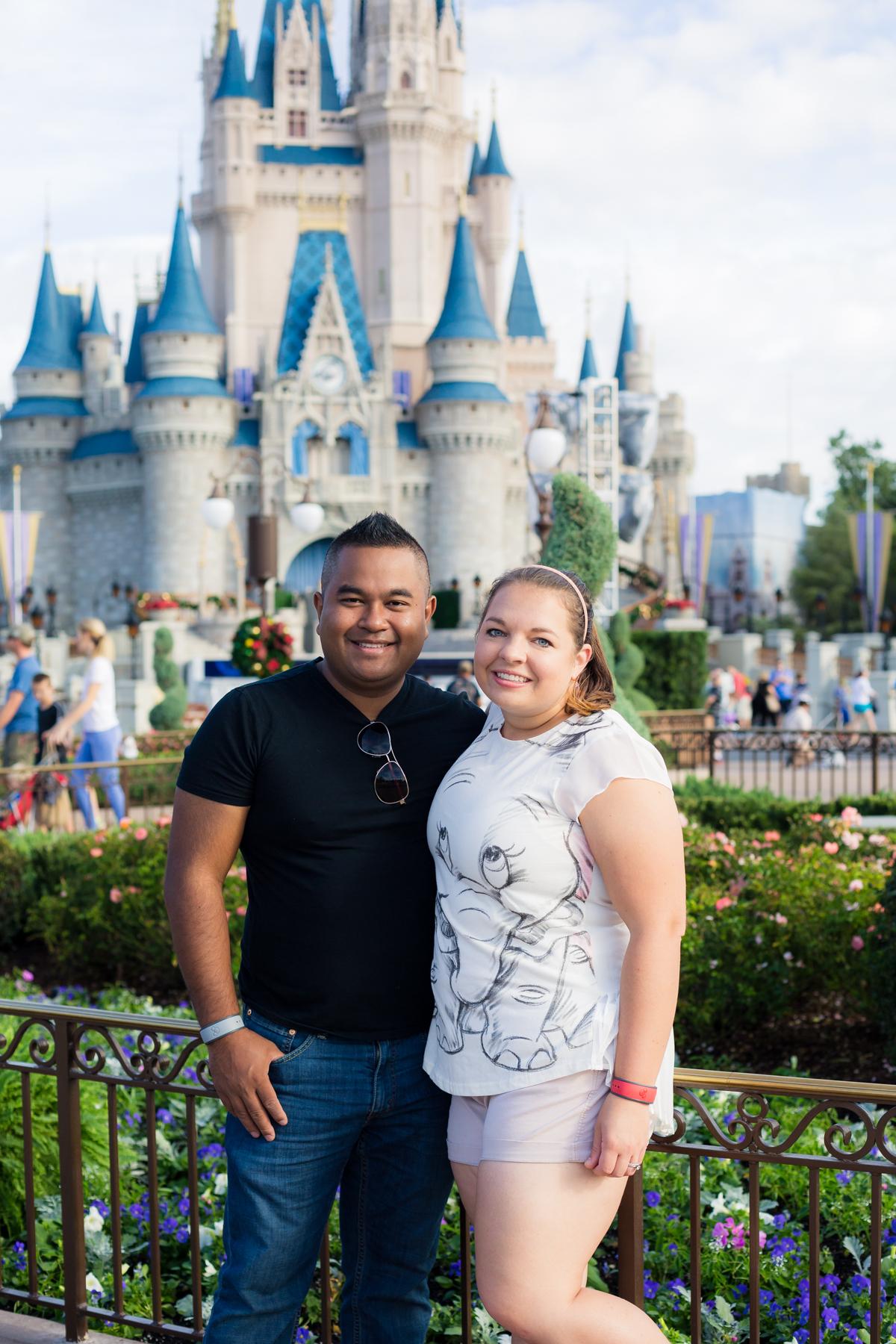Disney World Pregnancy Announcement Photo - Our Long Life Blog