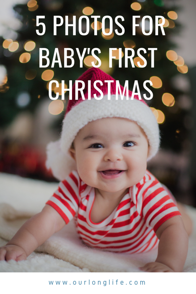 Holiday Photo Ideas of Baby's First Christmas