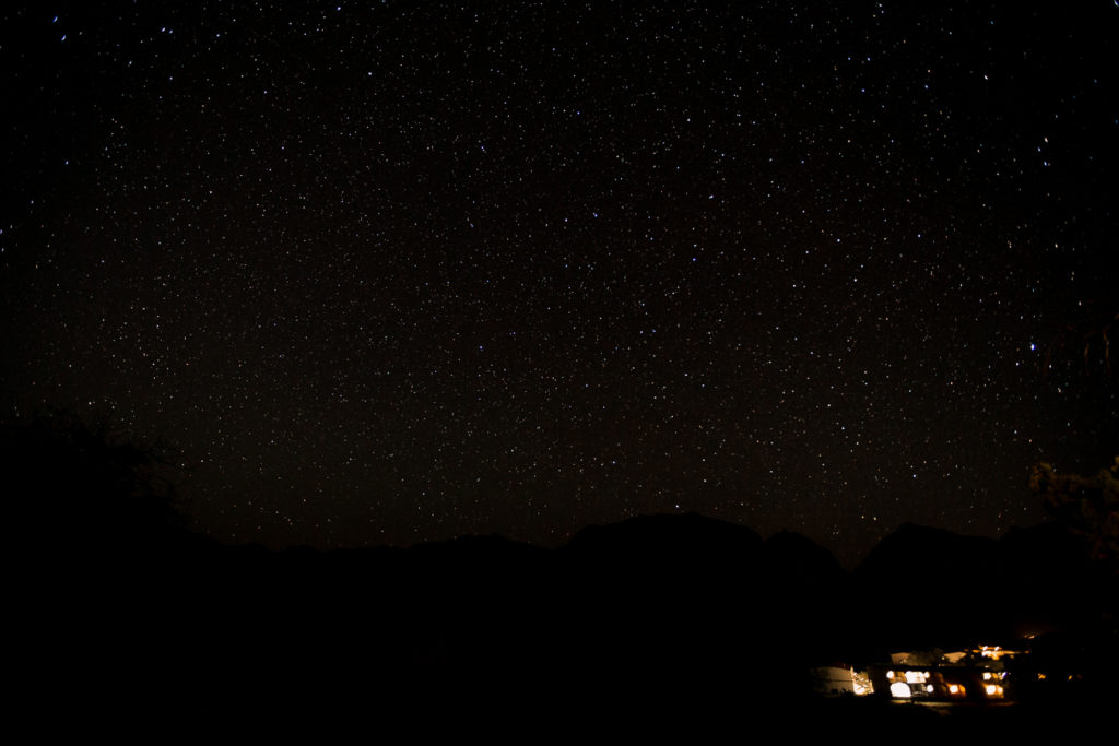 Star gazing - Things to do one a Big Bend Family Vacation with a Toddler in Spring Summer - May 2019
