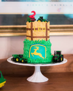 John Deere Tractor themed Birthday Party