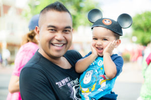 Disney World Magic Kingdom with a Toddler