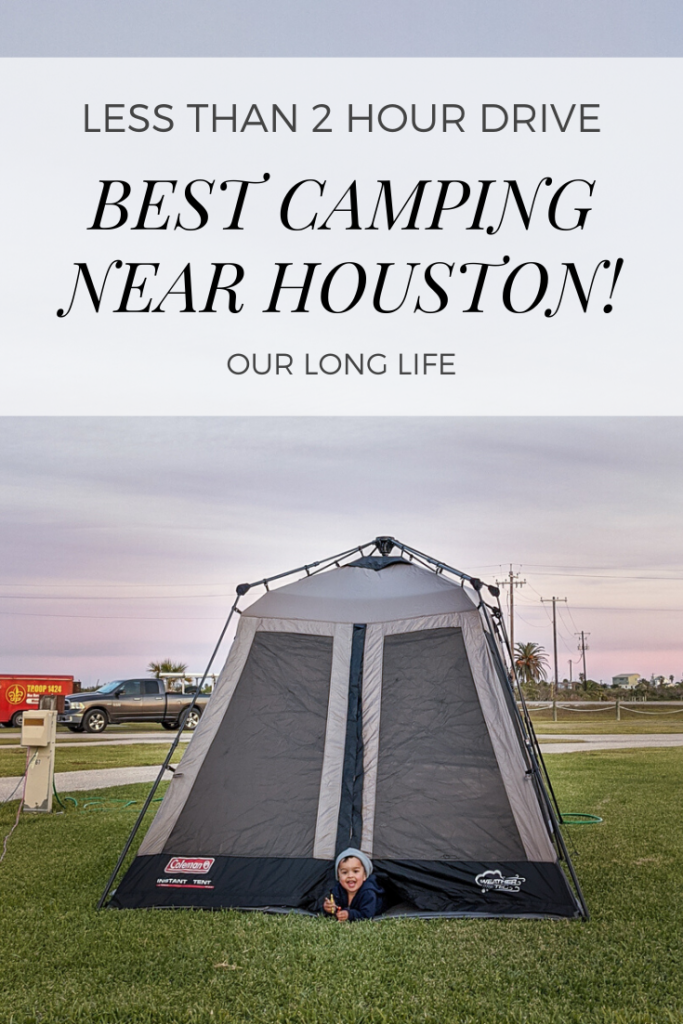Tips on Camping with a Toddler in Matagorda, TX less than 2 hour drive from Houston - Going Tent Camping, Fishing, Crabbing, To the Beach all with a 2 year old