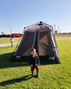 Tips on Camping with a Toddler