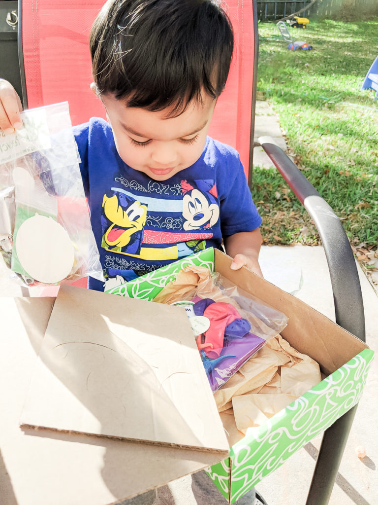 Green Kids Crafts Subscription Box for my two year old