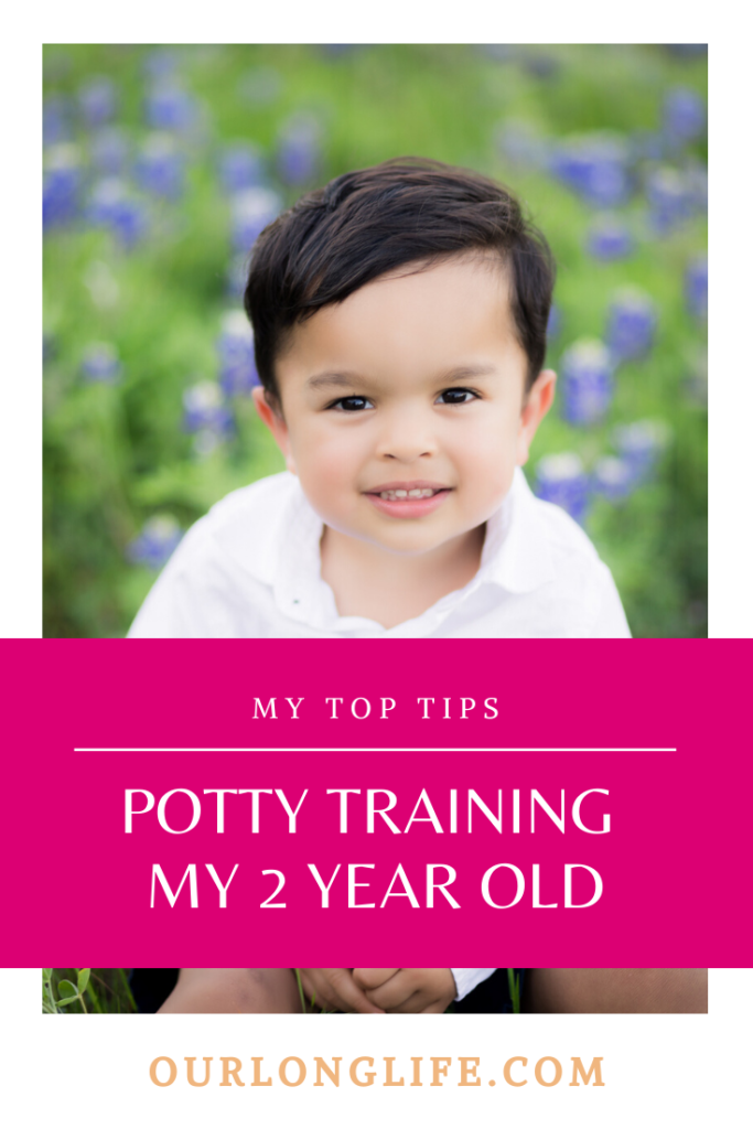 Top Tips on Potty Training my 2 Year Old Toddler