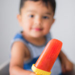 Homemade Healthy Strawberry and Orange Popsicle Recipe