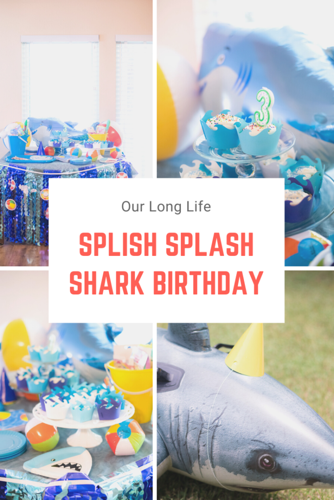 Splish Splash Toddler 3rd Birthday Party in confinement