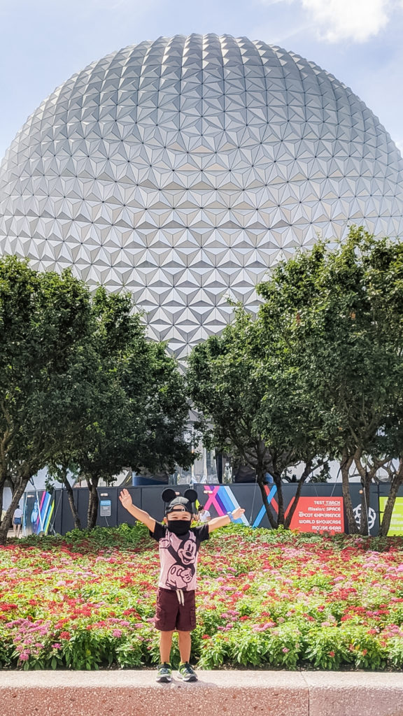 Visiting Walt Disney World during the COVID Coronavirus Pandemic Mask order with your family and a toddler | Our Long Life