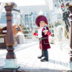 Disney Captain Hook Halloween Costume for a toddler